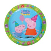 Set de platos grandes Peppa Pig