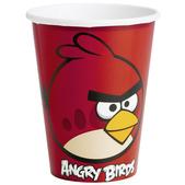 Conjunto de copos Angry Birds
