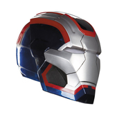 Casco Iron Patriot Deluxe para adulto