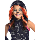 Peluca de Skelita Calaveras Monster High