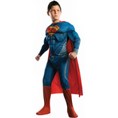 Costume de Superman Man of Steel musclé pour enfants