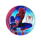 Conjunto de pratos grandes Spiderman