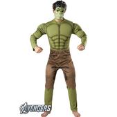 Disfraz de Hulk musculoso para adulto