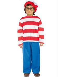 Disfraz de Wally Dónde está Wally para niño