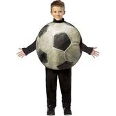 Disfraz de balón de fútbol infantil