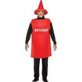 Disfraz de bote de ketchup