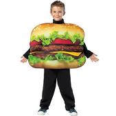 Disfraz de hamburguesa infantil