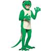 Disfraz de lagartija verde