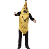 Disfraz de plátano zombie para adolescente