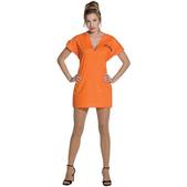 Disfraz de presa naranja