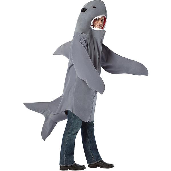 Como hacer un traje de tiburon - Imagui
