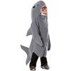 Disfraz de tiburón feroz infantil