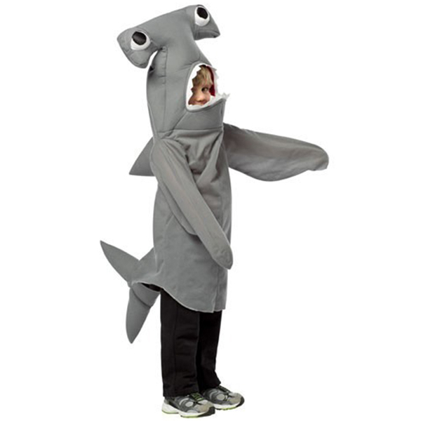 Cómo hacer un disfraz de tiburón infantil - Imagui