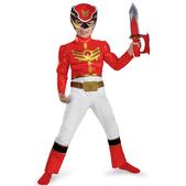 Disfraz de Power Ranger Megaforce Rojo Classic para niño