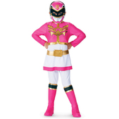 Disfraz de Power Ranger Megaforce Rosa para niña