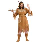Disfraz de india americana talla grande