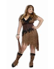 Disfraz de mujer cavernícola talla grande