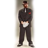 Disfraz de gángster de Chicago talla grande