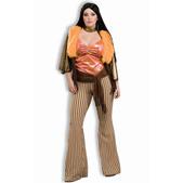 Disfraz de pibón de los 60s talla grande