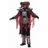 Disfraz de guerrero demoníaco
