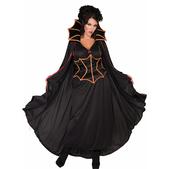 Disfraz de vampiresa oscura talla grande
