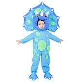Disfraz de triceratops para niño