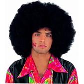 Perruque afro spongieuse