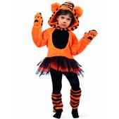 Disfraz de tigre tutú para niña