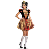 Disfraz de Reina de Corazones Tim Burton sexy