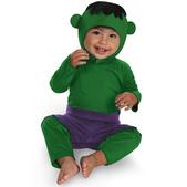 Disfraz de pequeño Hulk para bebé