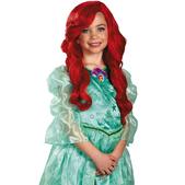 Peluca Ariel la Sirenita para niña