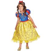 Disfraz de Blancanieves destello para niña