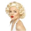 Peluca de Marilyn Monroe deluxe