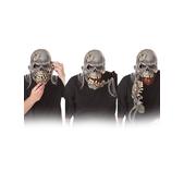 Masque de zombie à la mâchoire cassée