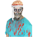 Sombrero de cerebro con vendaje