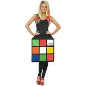 Disfraz de Cubo de Rubik 3D