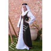 Vestido medieval Brial corpiño