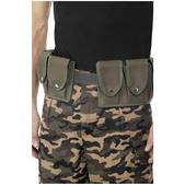 Cinturón del ejército con petacas