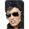 Gafas de sol de Elvis plateadas