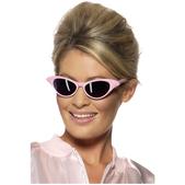 Gafas de sol rock and roll rosa