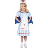 Disfraz de enfermera vintage para niña
