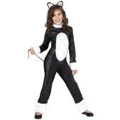 Disfraz de gato molón para niña