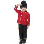 Déguisement d'un garde avec son haut chapeau pour garçon