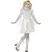 Disfraz de muñeca china gótica para niña