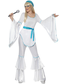 Disfraz de Super Trouper para mujer