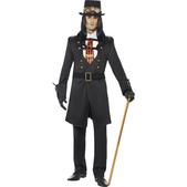 Disfraz de vampiro victoriano steampunk