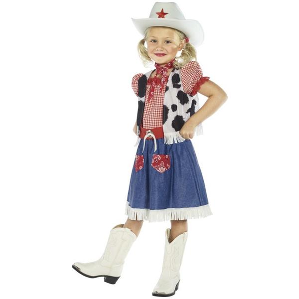 disfraz de vaquera para nia