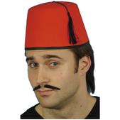 Sombrero de moro rojo
