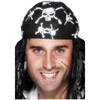 Pañuelo de pirata estampado