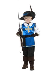 Disfraz de valiente mosquetero para niño